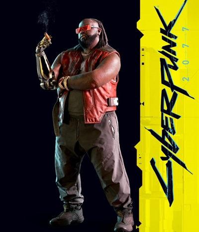 《赛博朋克2077》官方脚色图片公布