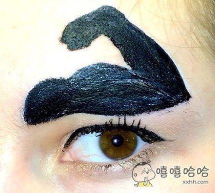 看着就很有力量的眉毛