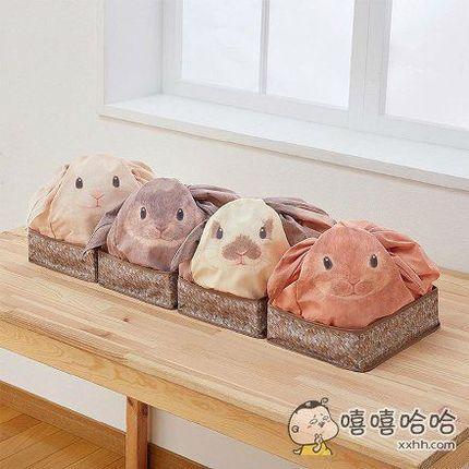 来自霓虹国的兔叽口袋,一回家那么多双萌萌哒的眼睛望着你,要化了~