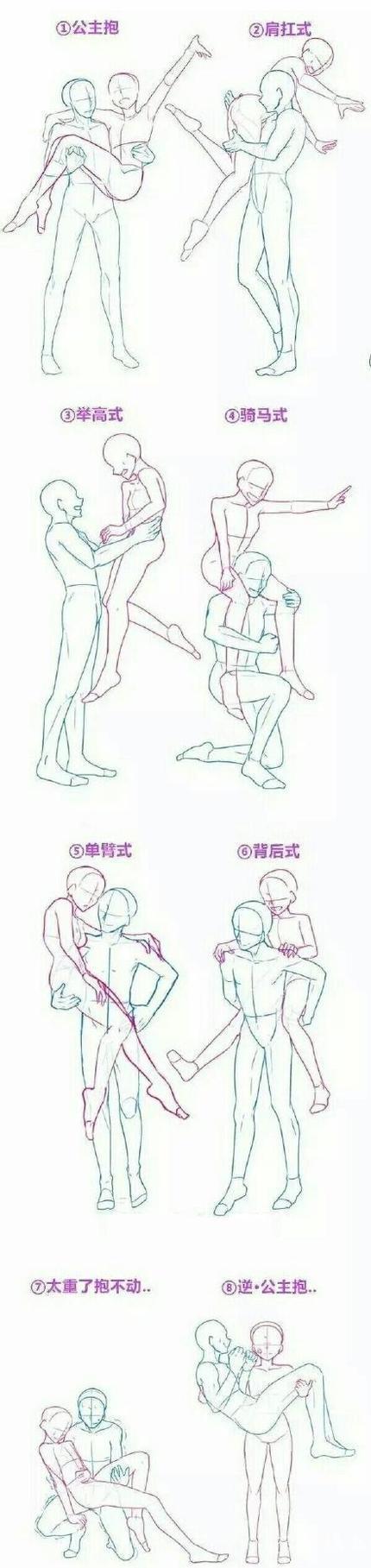 情侣抱的几种常规姿势,你是哪一种?