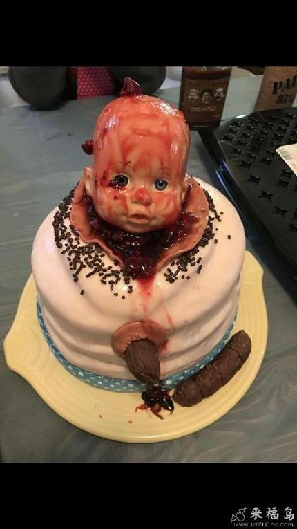 这个蛋糕我真的吃不下啊!