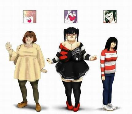 日本女生常见头像。