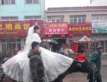 这样的婚礼还是头一次见