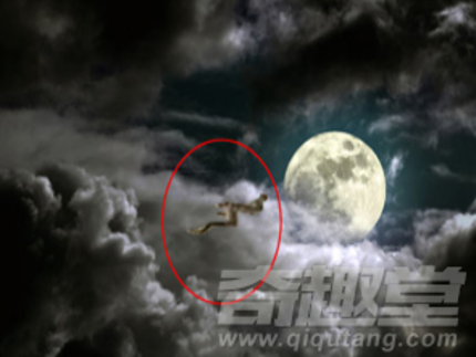 中秋前四川现天象异景:真龙奔月