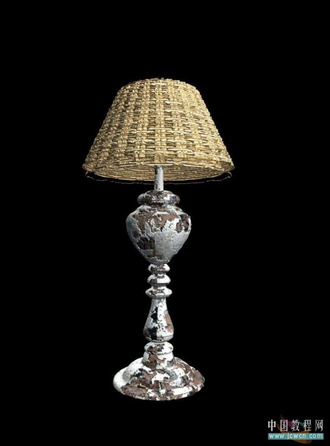 3ds MAX一盏铜油灯的建模及渲染